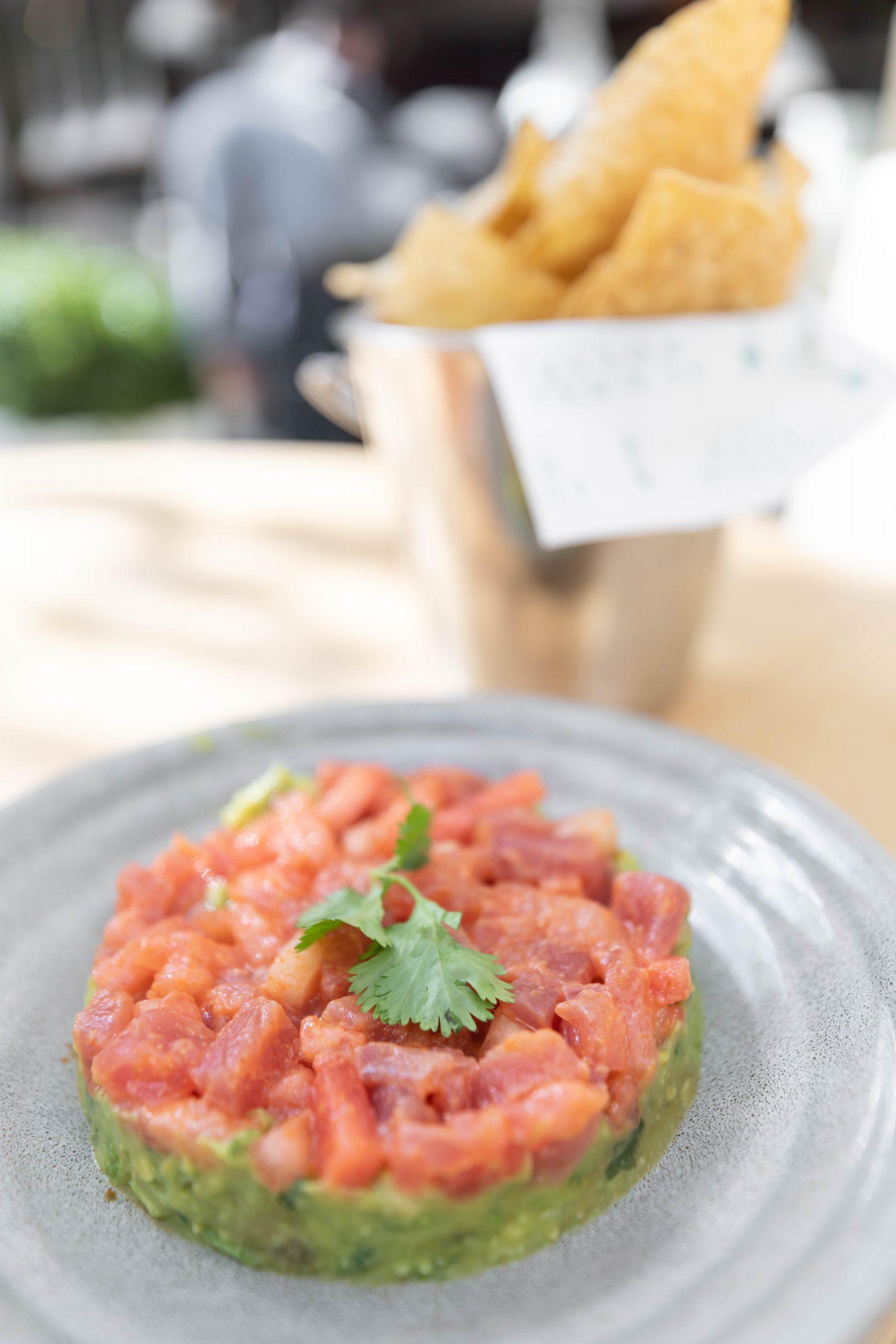 Tuna & Watermelon Tartare Summer House Santa Monica Vegan Friendly Gluten Free Restaurant in Chicago, Illinois Gold Coast by Annie Fairfax