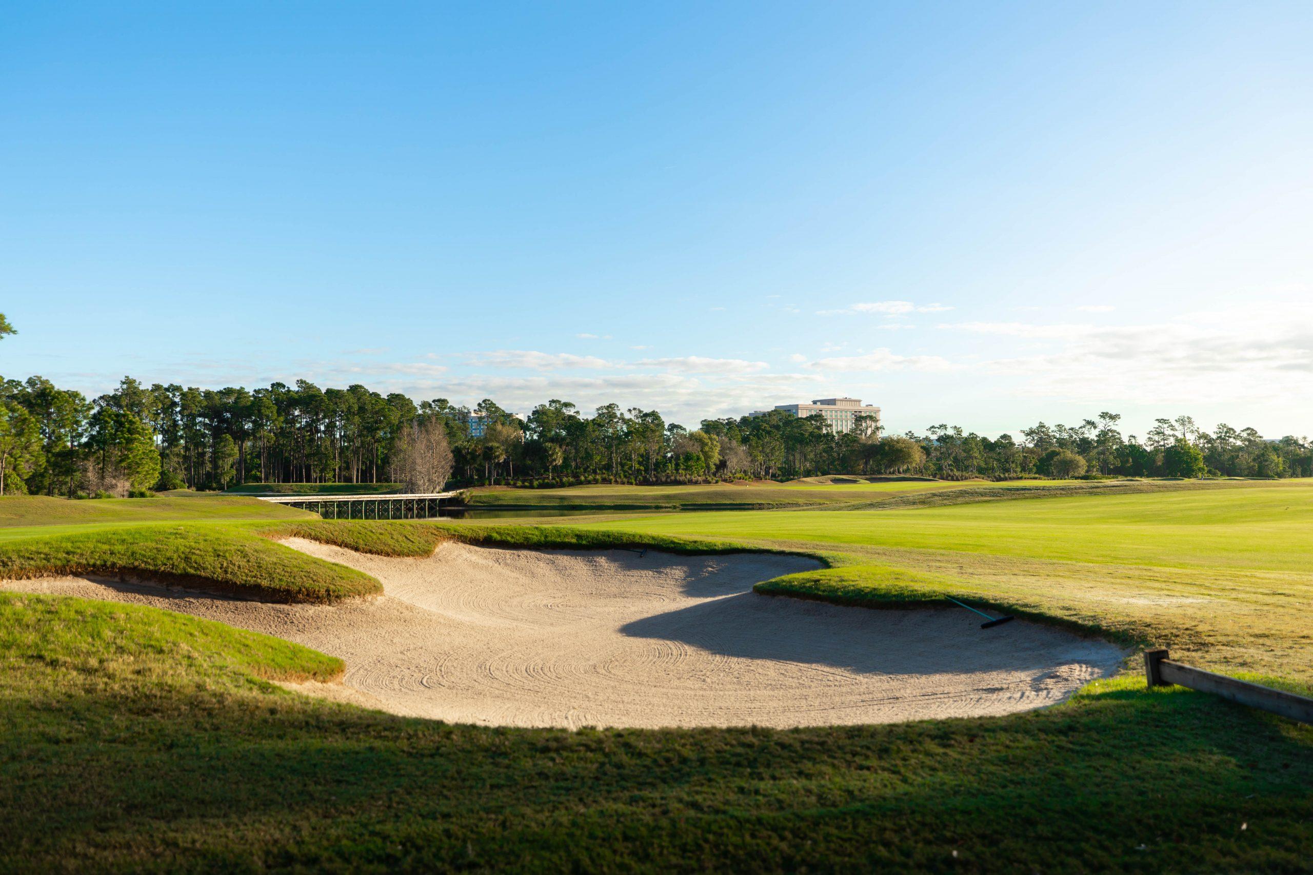 Waldorf Astoria Orlando Golf Club in Orlando Florida Photographed by Annie Fairfax