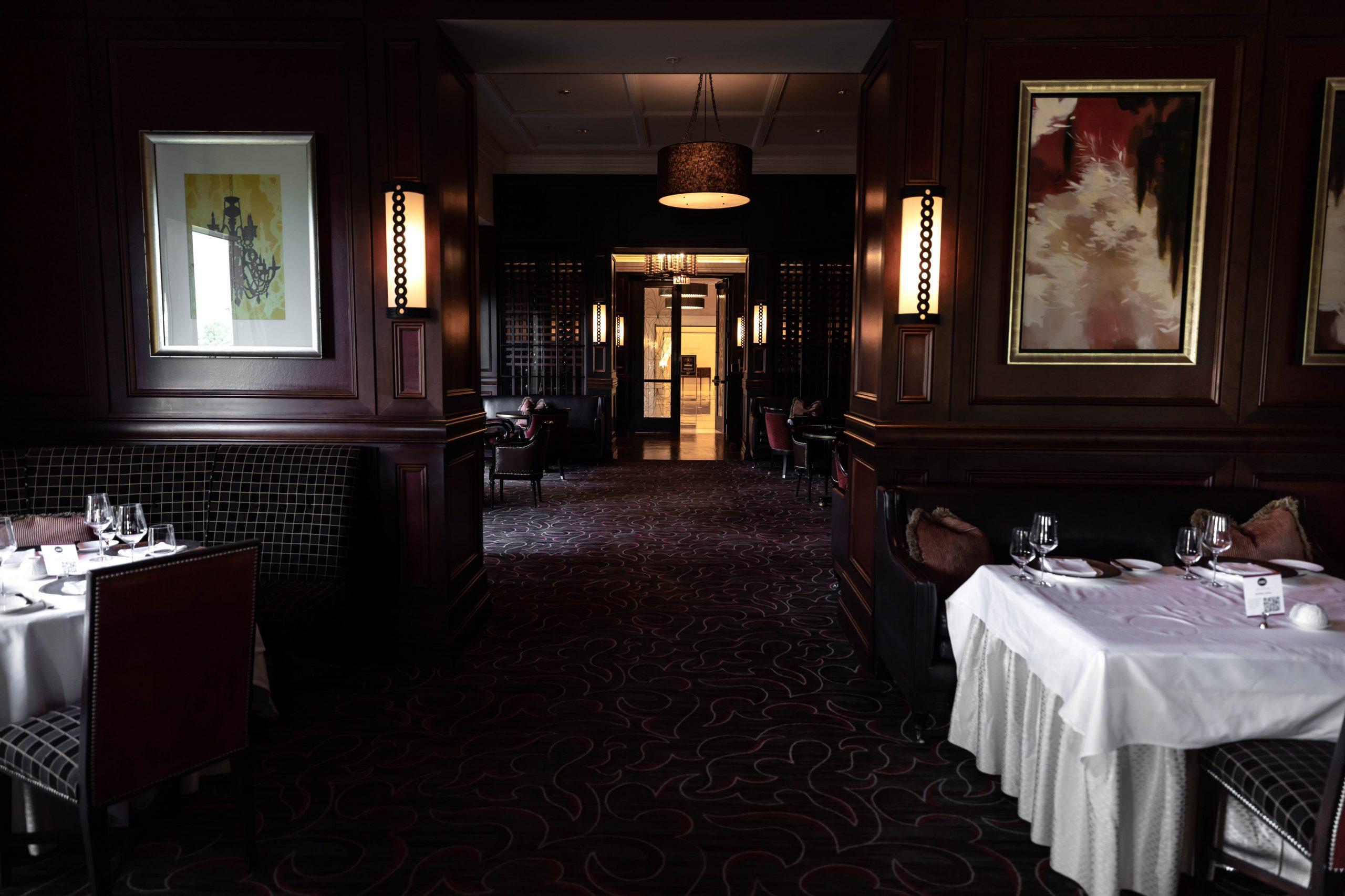 Bull & Bear Steakhouse Luxury Restaurant at Waldorf Astoria Orlando Florida by Annie Fairfax