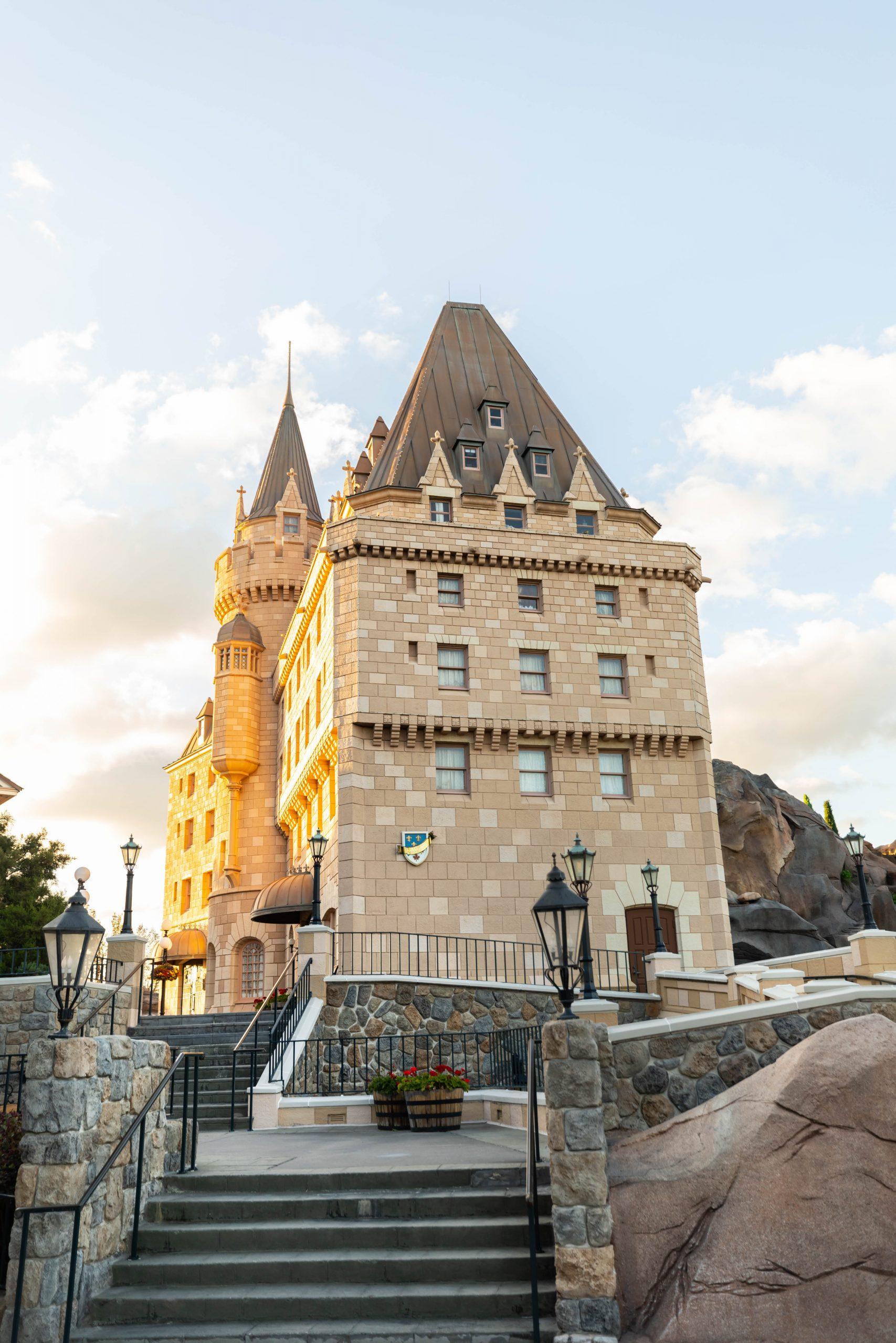 Hotel du Canada aka Fairmont Chateau Laurier in Canada at Epcot Walt Disney World by Luxury Travel Writer Annie Fairfax