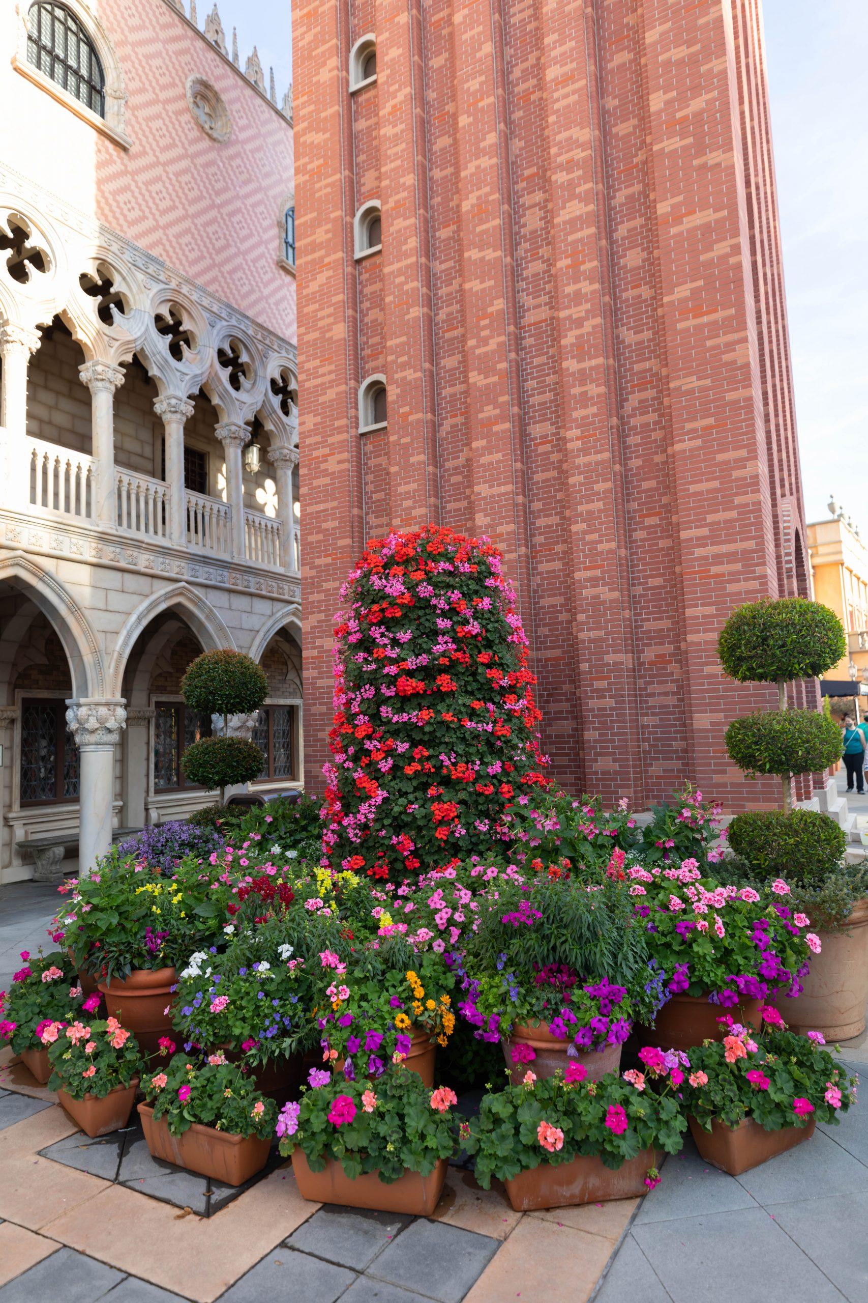 Italy at Epcot World Showcase Epcot International Flower & Garden Festival by Annie Fairfax