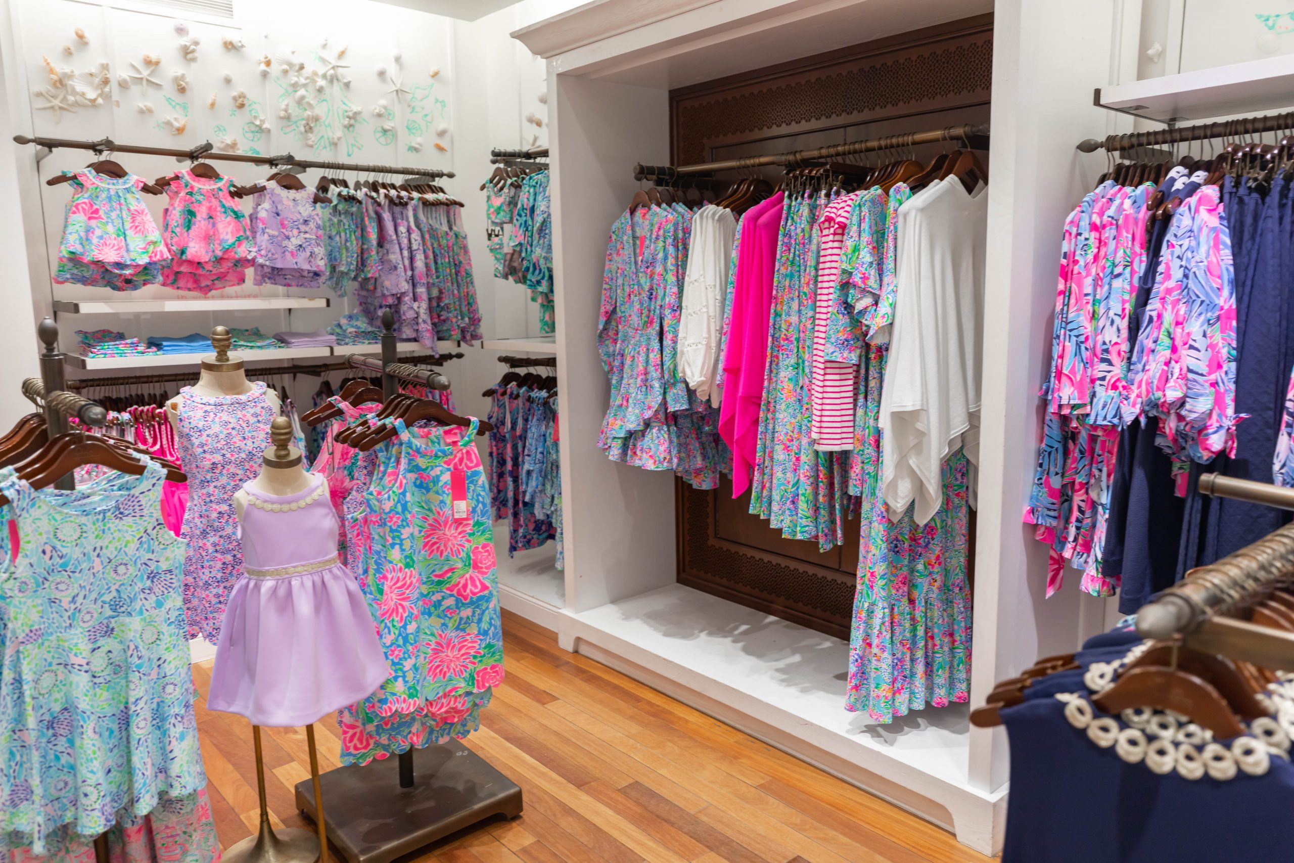 Lilly Pulitzer Store in Greenwich Connecticut by Annie Fairfax
