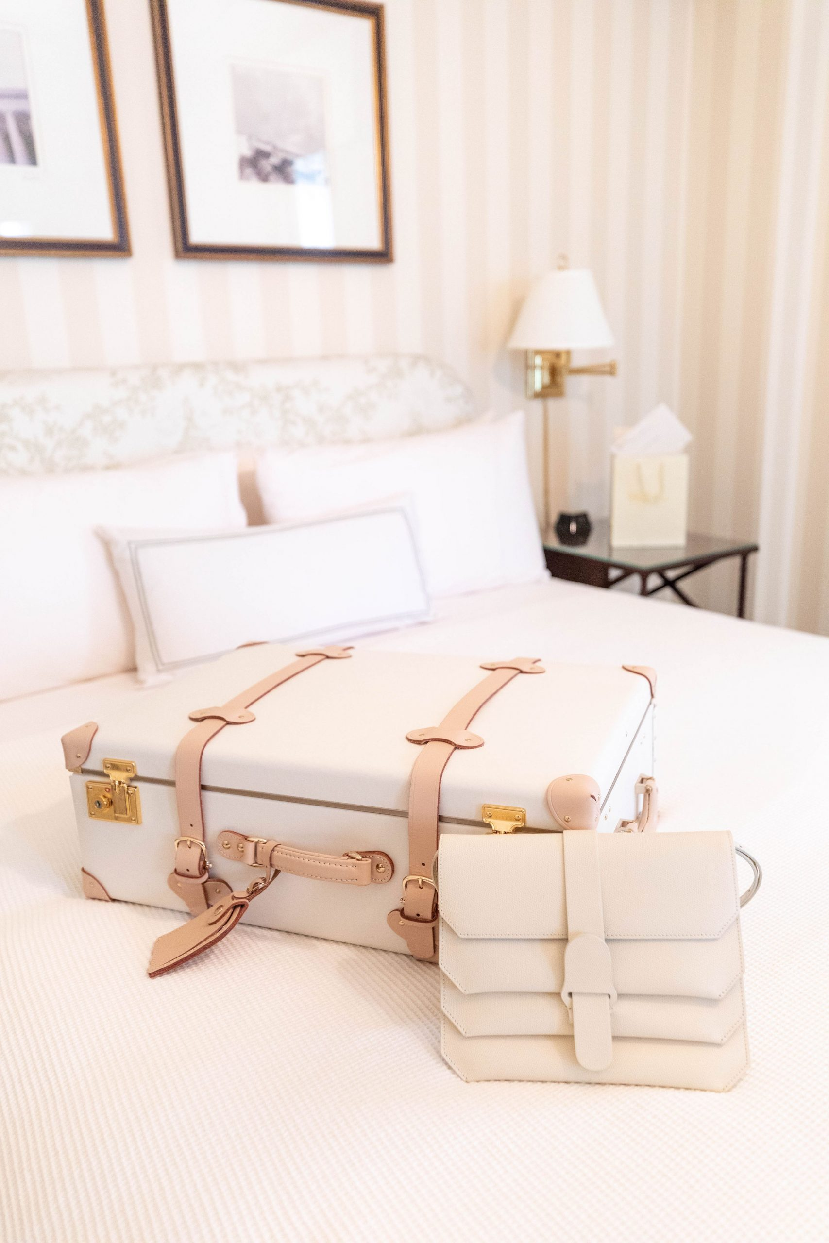 Steamline Luggage at The Hay-Adams 5-Star Luxury Hotel in Washington D.C. Photographed & Written by Luxury Travel & Lifestyle Writer Annie Fairfax
