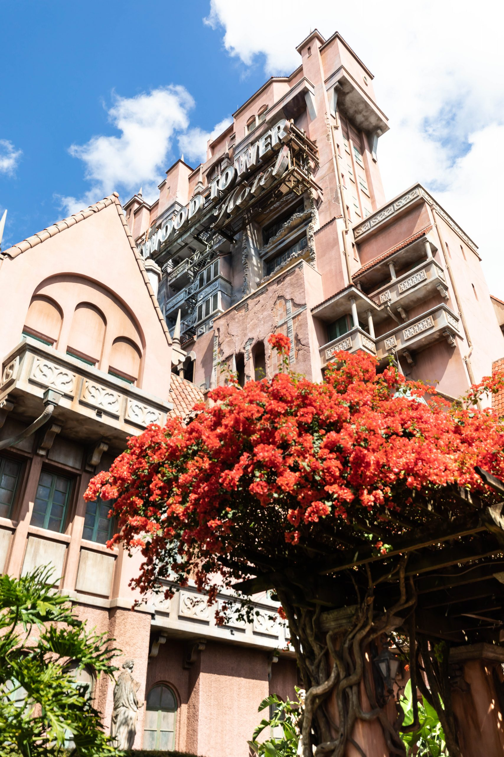 Hollywood Tower Hotel Tower of Terror in Orlando, Florida Review by Luxury Travel Writer Annie Fairfax