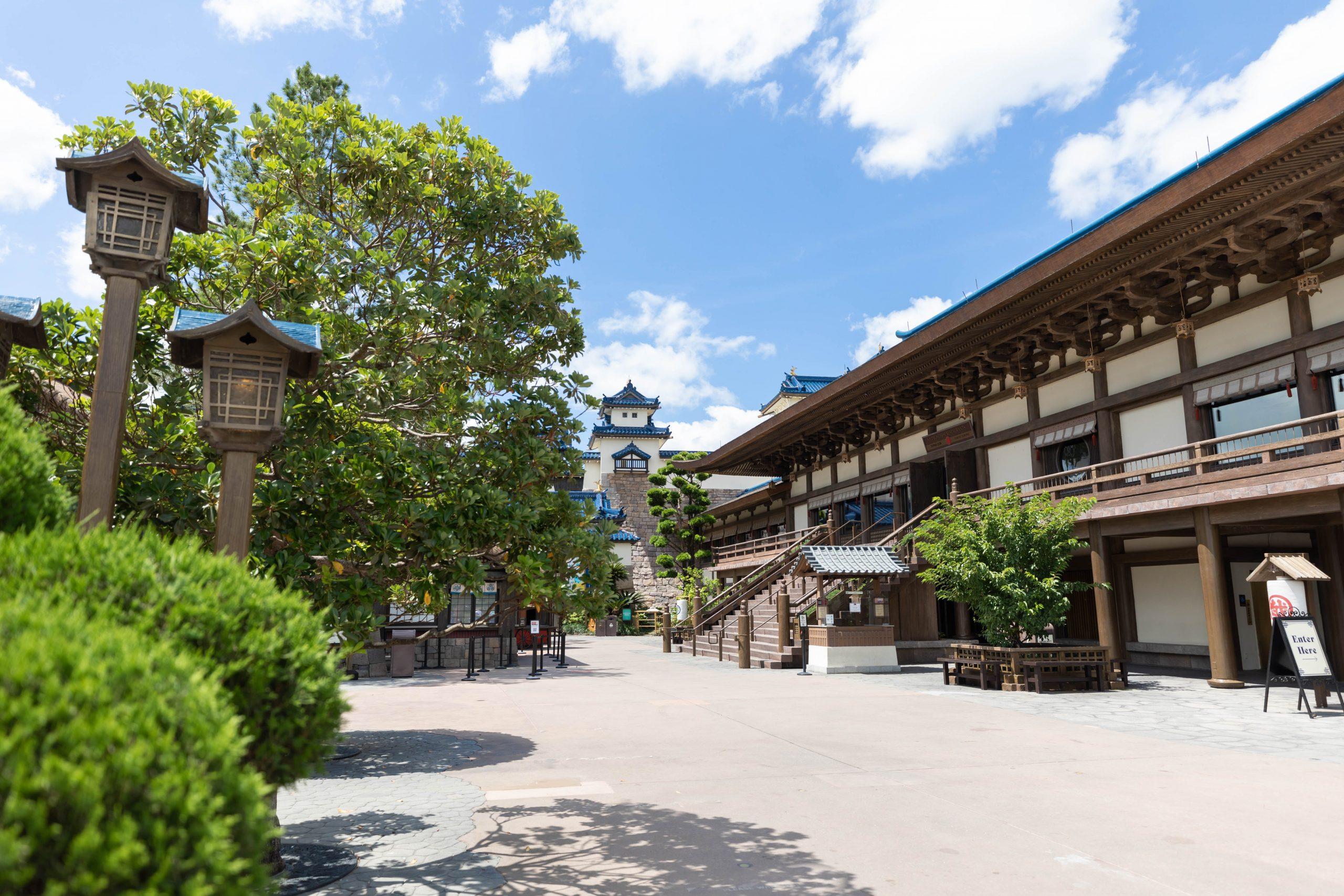 Japan Pavillion at Epcot in Walt Disney World Orlando Florida by Luxury Travel Writer Annie Fairfax