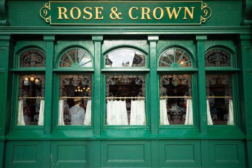 Rose & Crown Pub at United Kingdom Pavillion at Epcot Walt Disney World Photographed by Annie Fairfax