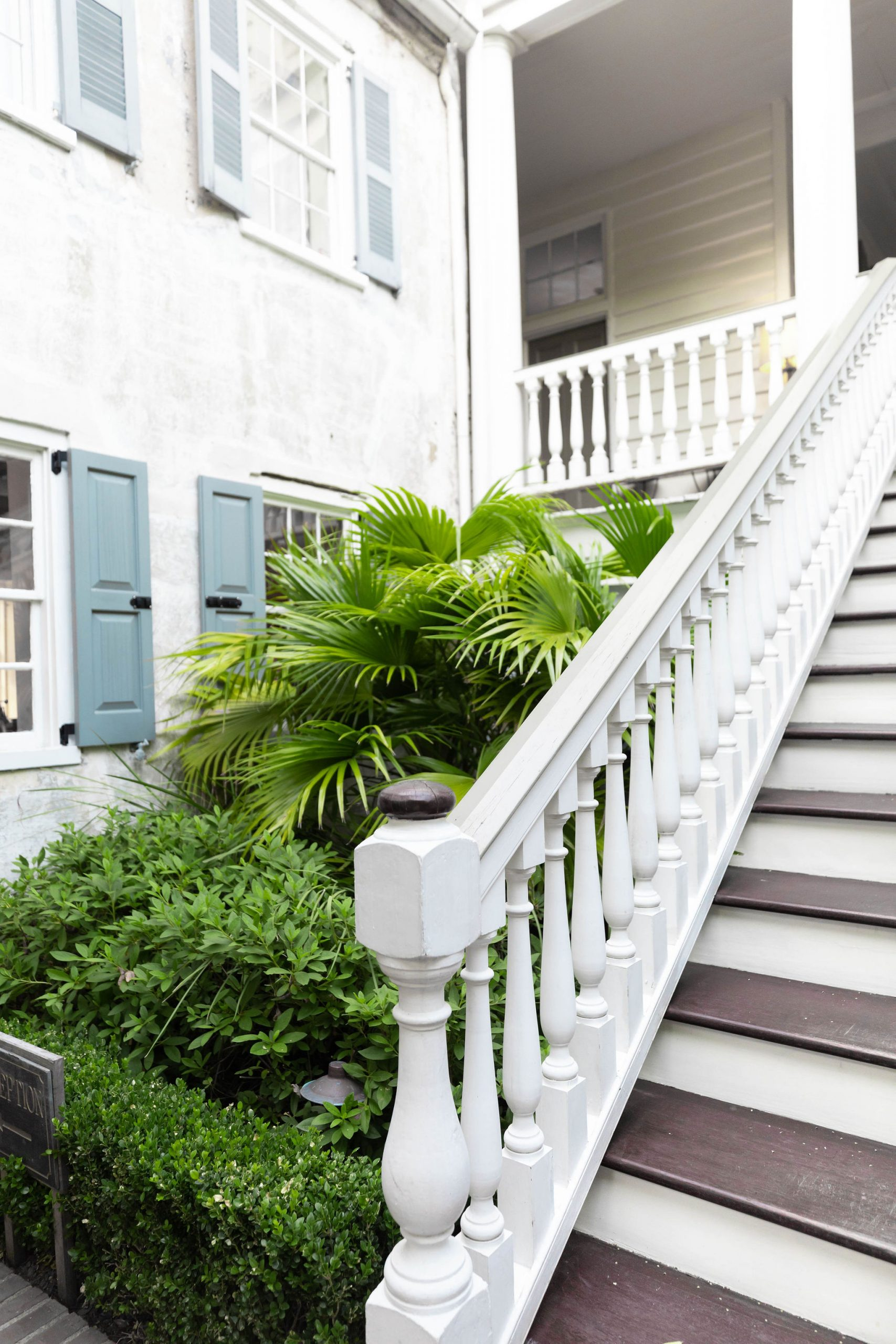 Alfresco Dining in the Courtyard of Zero George Restaurant + Bar in Charleston South Carolina Photographed and Written by Luxury Travel Writer Annie Fairfax