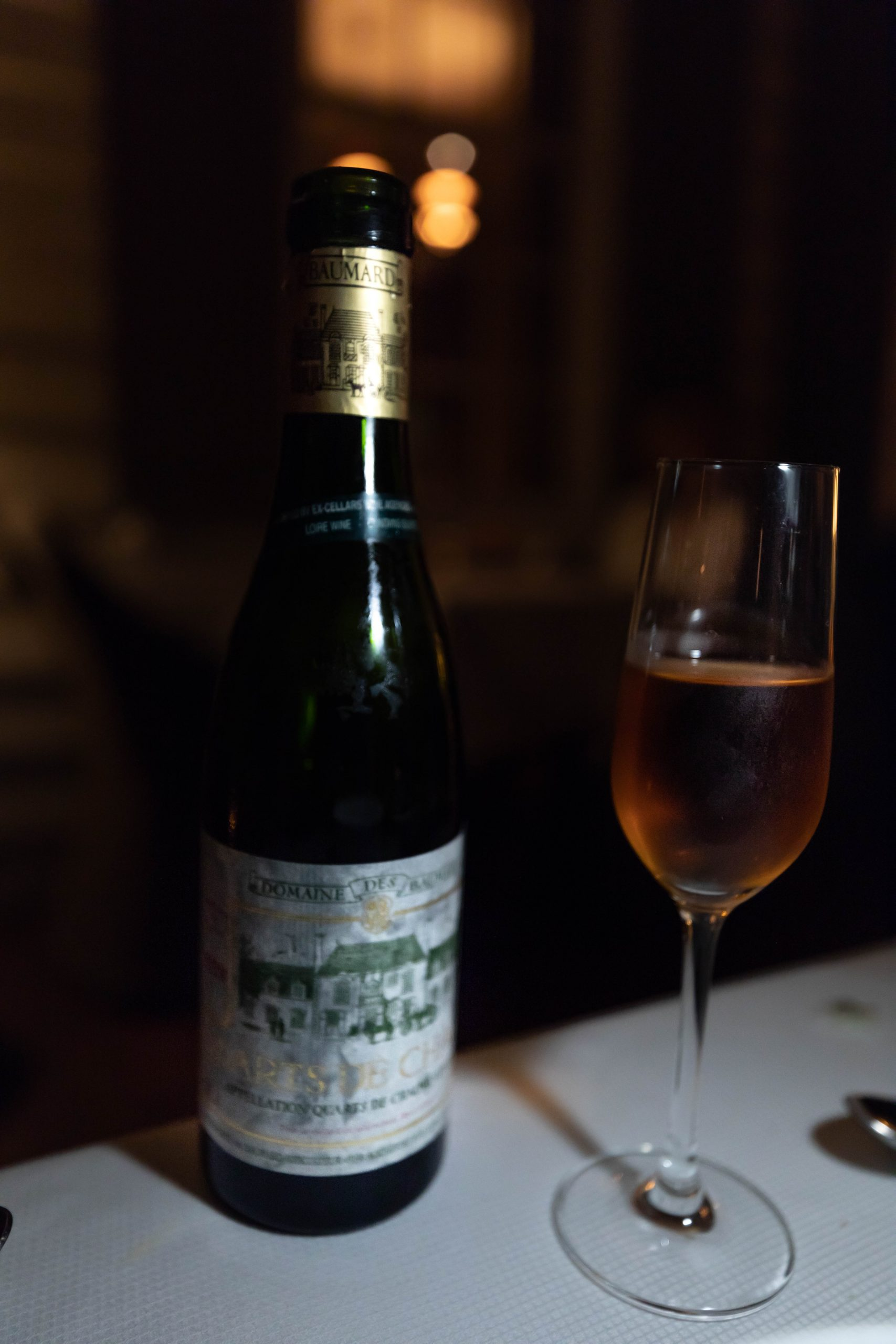 1999 Domaine des Baumard Quatres de Chaume from the Loire Valley in France