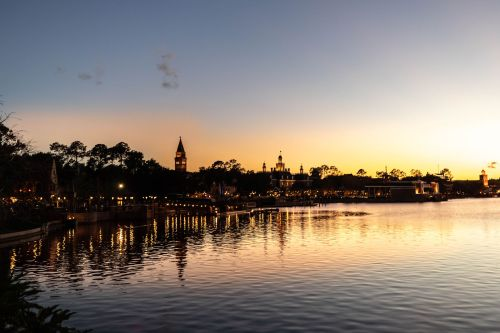 Norway View from Epcot at Walt Disney World Orlando Florida Photographed by Annie Fairfax