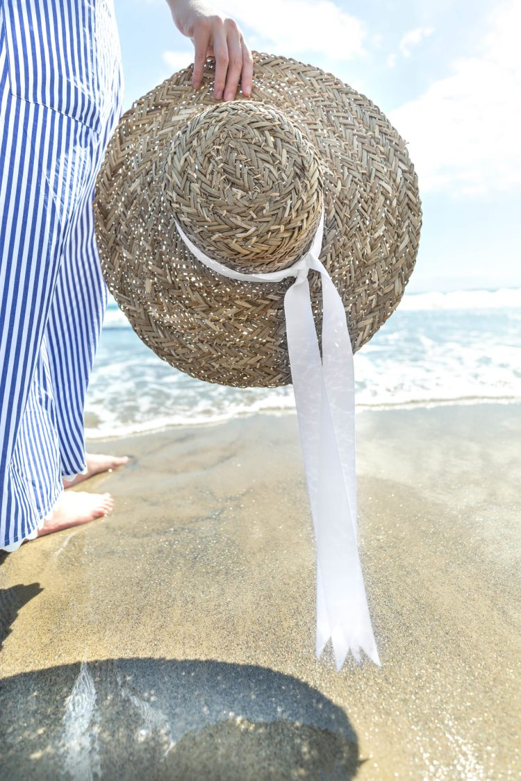 Beachy Striped Maxi Dress