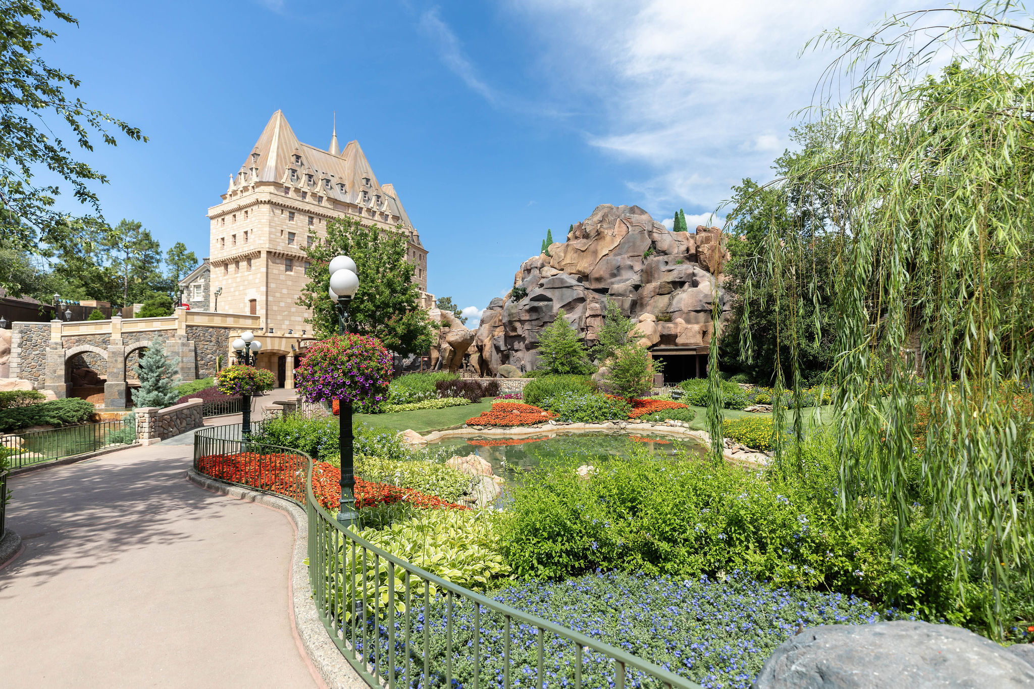 Epcot World Showcase Canada Pavillion Without Crowds Photographed by Luxury Travel Writer Annie Fairfax