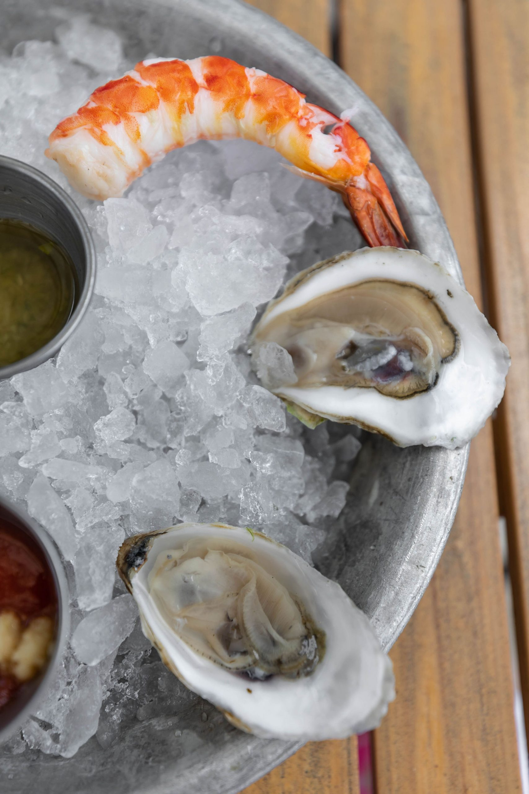Oysters at Boathouse Restaurant at Disney Springs Orlando Florida Photographed by Annie Fairfax