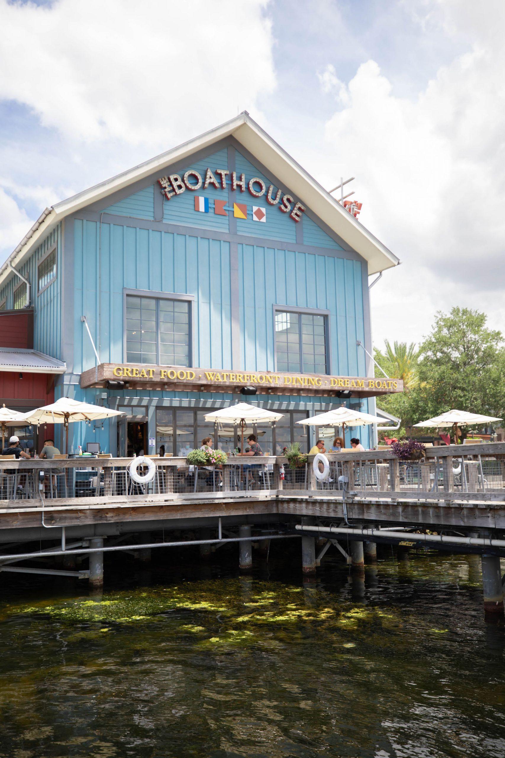 Boathouse Restaurant at Disney Springs Orlando Florida Photographed by Annie Fairfax