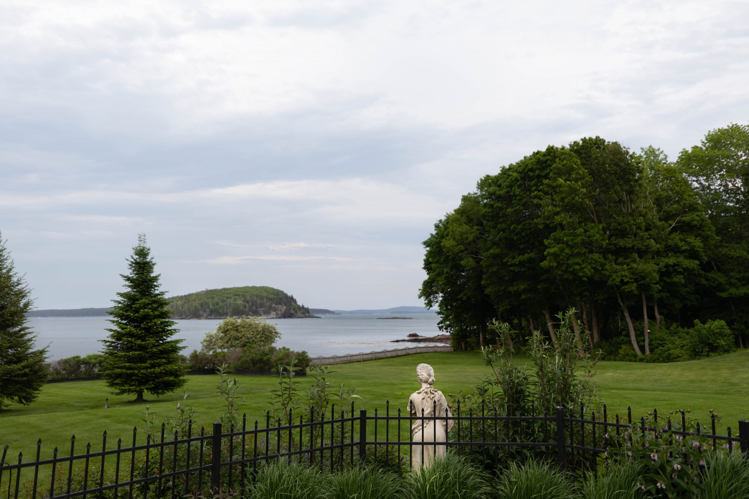 View from Balance Rock Inn in Bar Harbor Maine Written and Photographed by Luxury Travel Writer Annie Fairfax