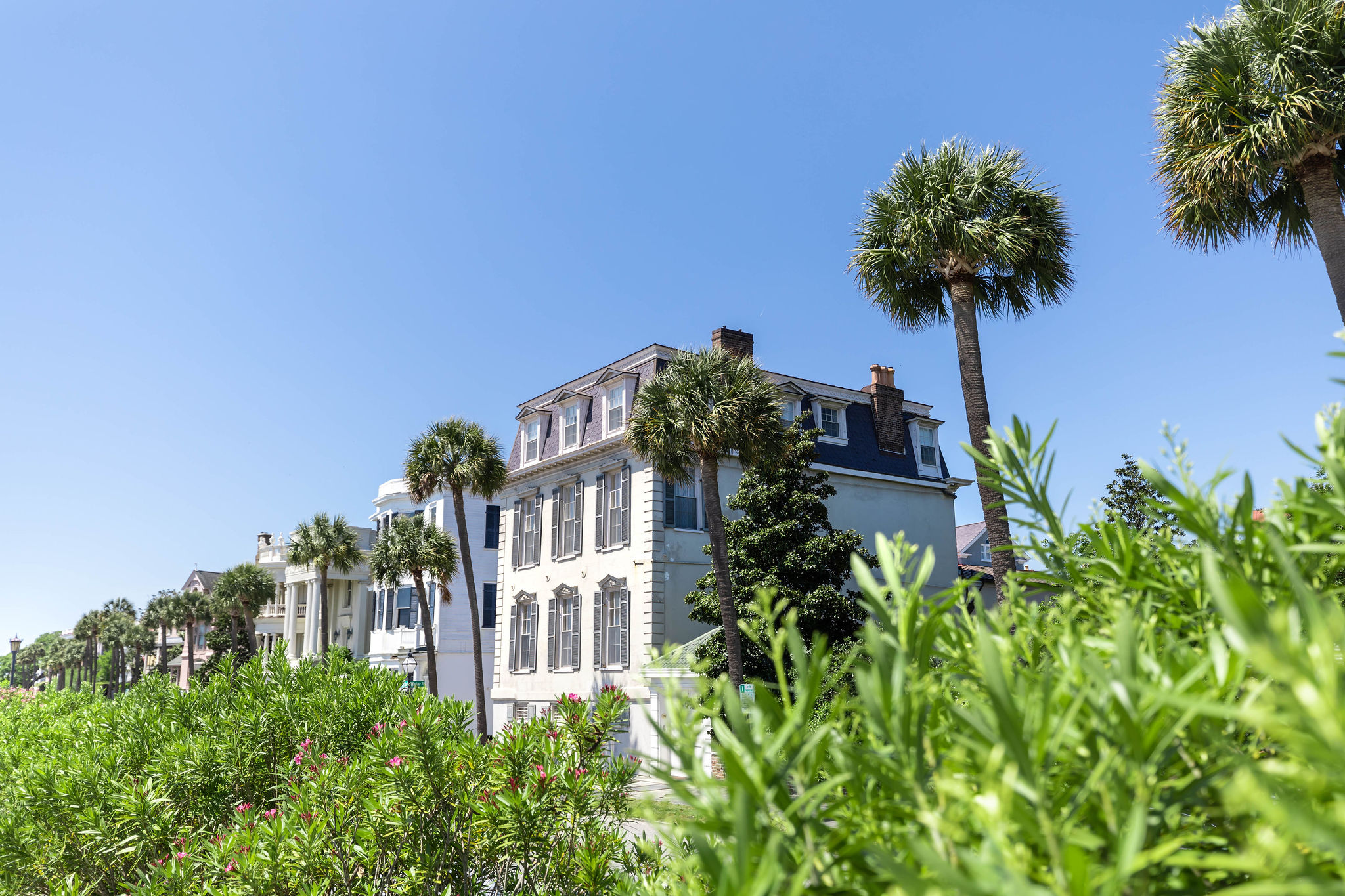 Homes Along the Water Charleston Harbor Beautiful Homes of The Holy City Charleston Luxury Travel Guide by Photographer Annie Fairfax South Carolina Vacation Ideas and Honeymoon Inspiration