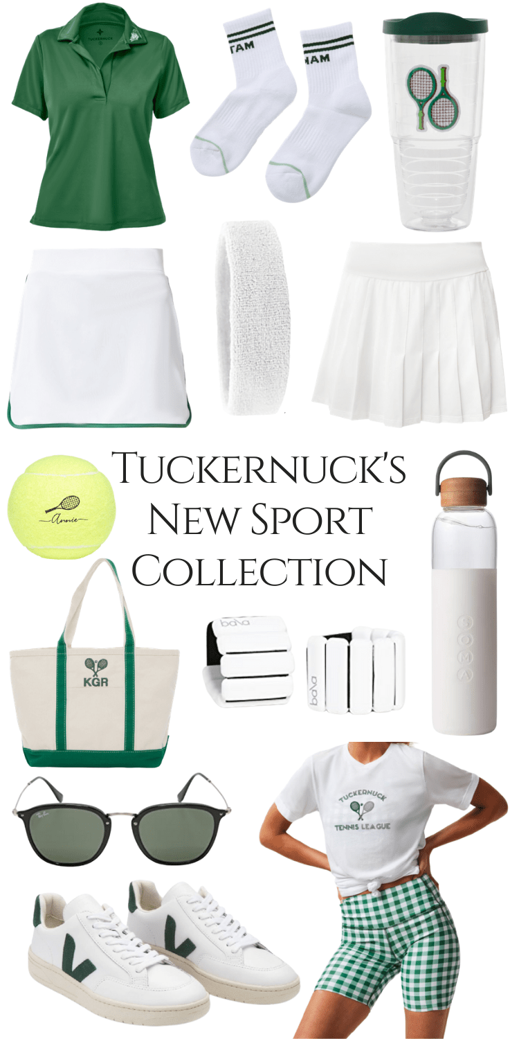 Tuckernuck's New Sport Collection is Here!