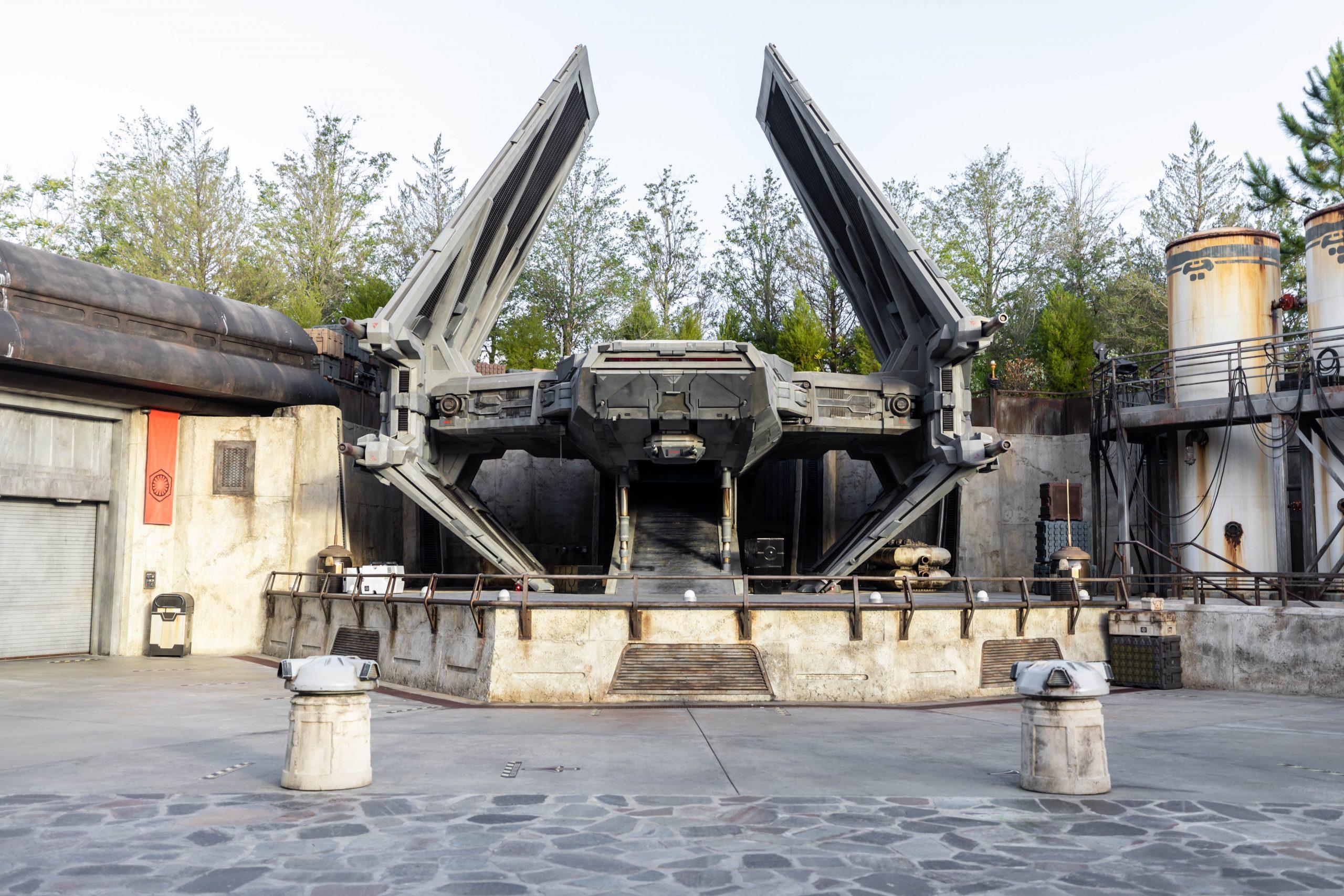 Private Tour of Galaxy's Edge Hollywood Studio Walt Disney World Annie Fairfax