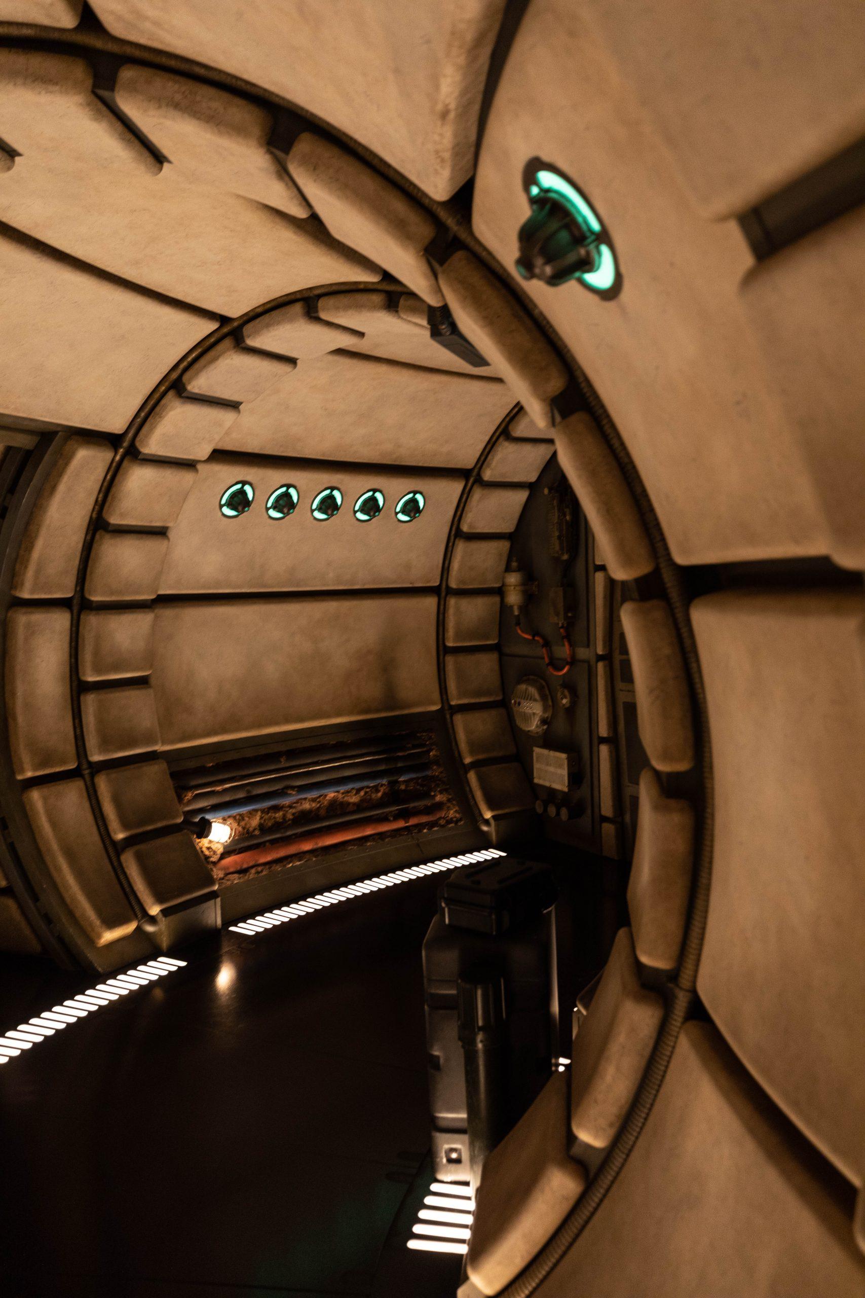 Millenium Force: Smugglers Run Star Wars: Galaxy's Edge Hollywood Studios Walt Disney World Photographed by Annie Fairfax