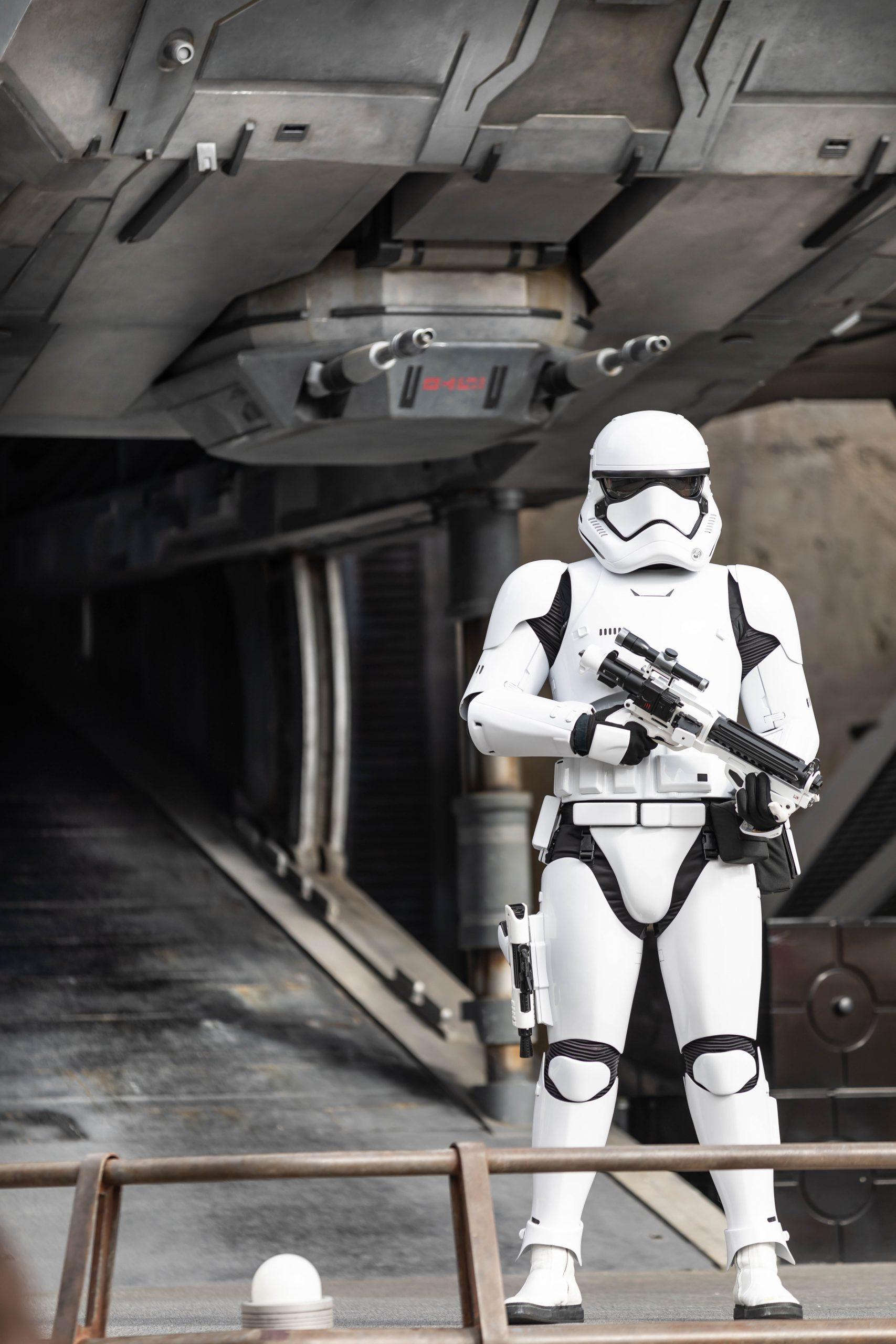 Storm Trooper Private Tour of Galaxy's Edge Hollywood Studio Walt Disney World Annie Fairfax
