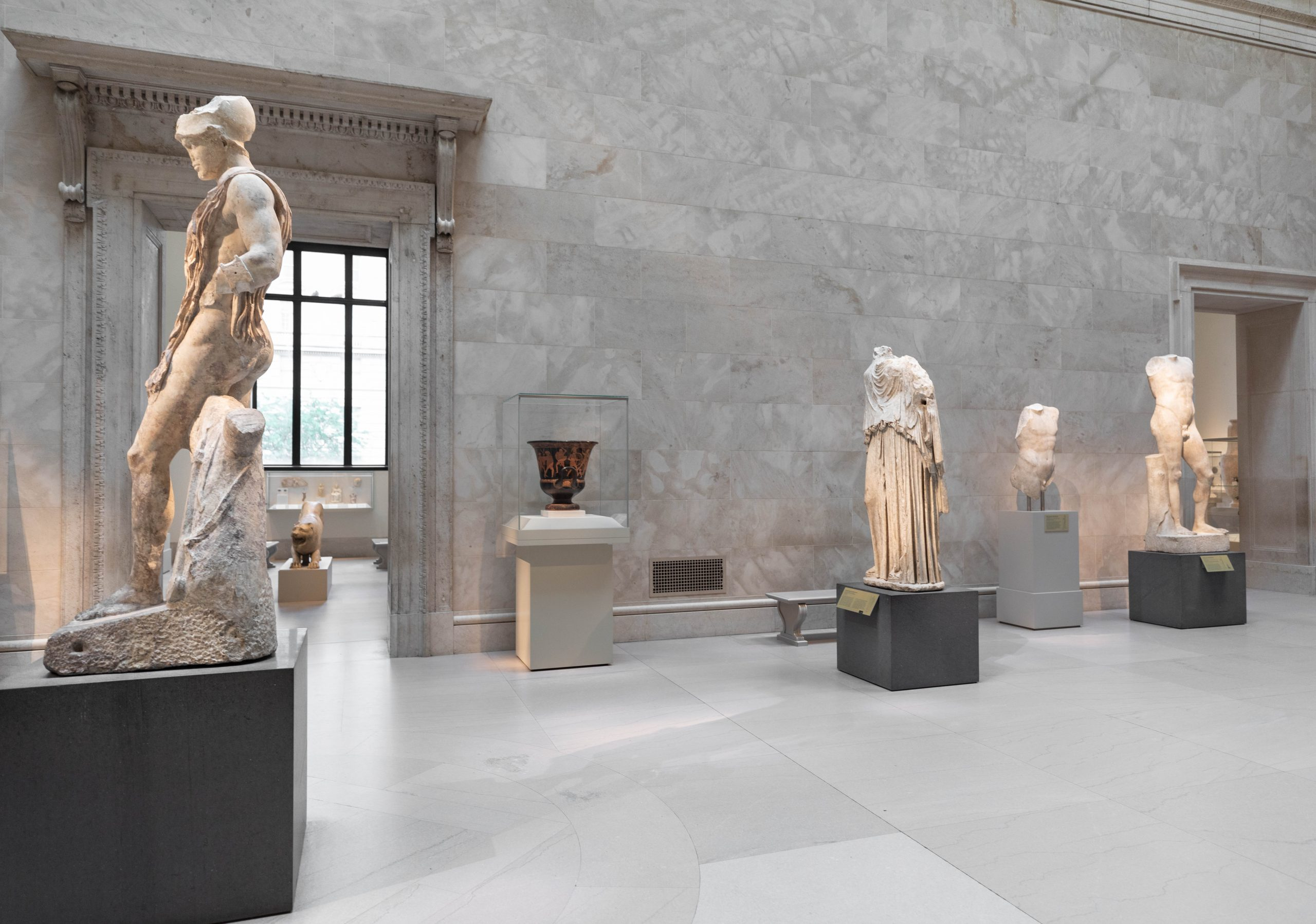 Roman and Greek Statues at The Metropolitan Museum of Art The Met in New York City New York Photographed by Annie Fairfax