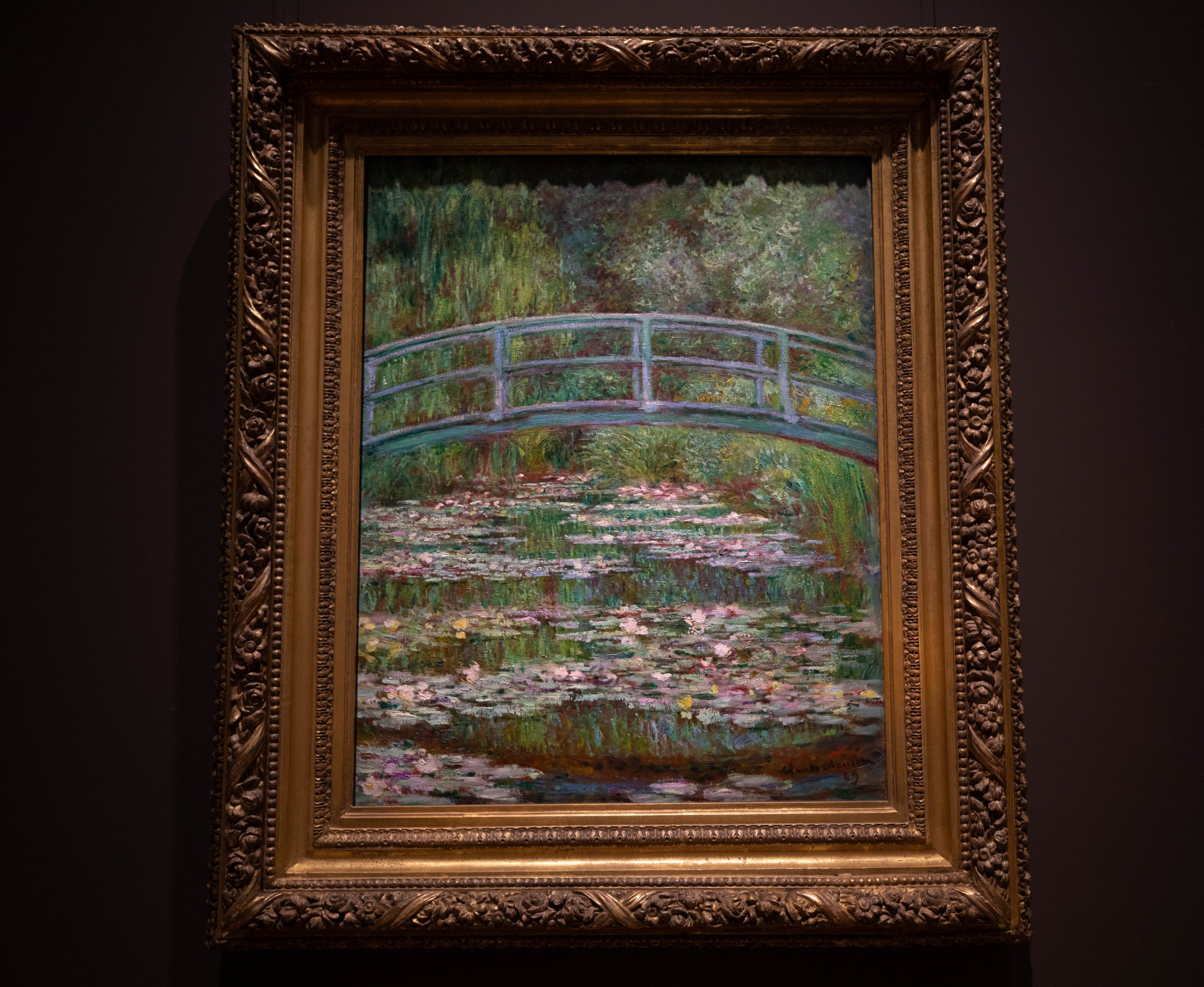 Bridge Over a Pond of Water Lillies by Claude Monet 1899 The Metropolitan Museum of Art The Met in New York City New York Photographed by Annie Fairfax