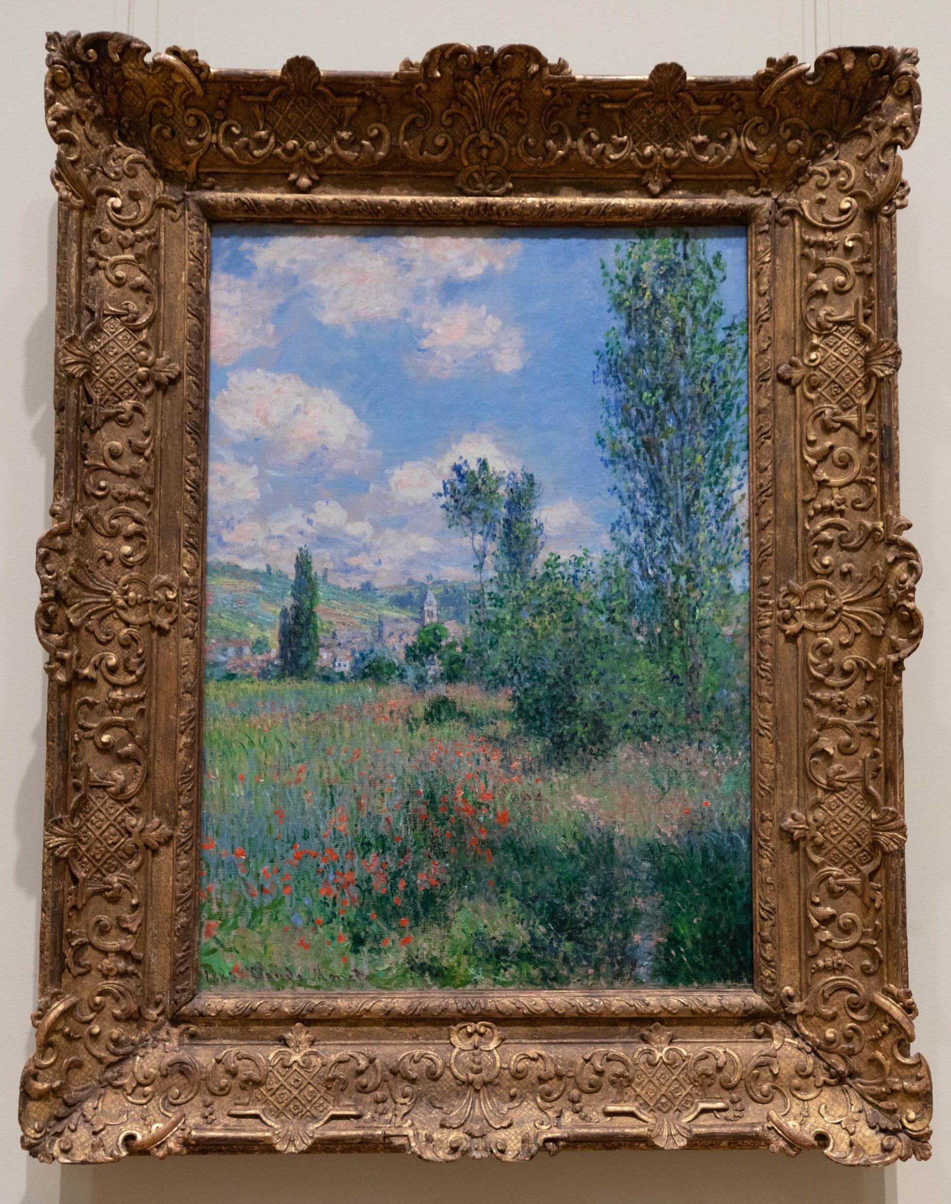 View of Vétheuil (1880) by Claude Monet 1899 The Metropolitan Museum of Art The Met in New York City New York Photographed by Annie Fairfax