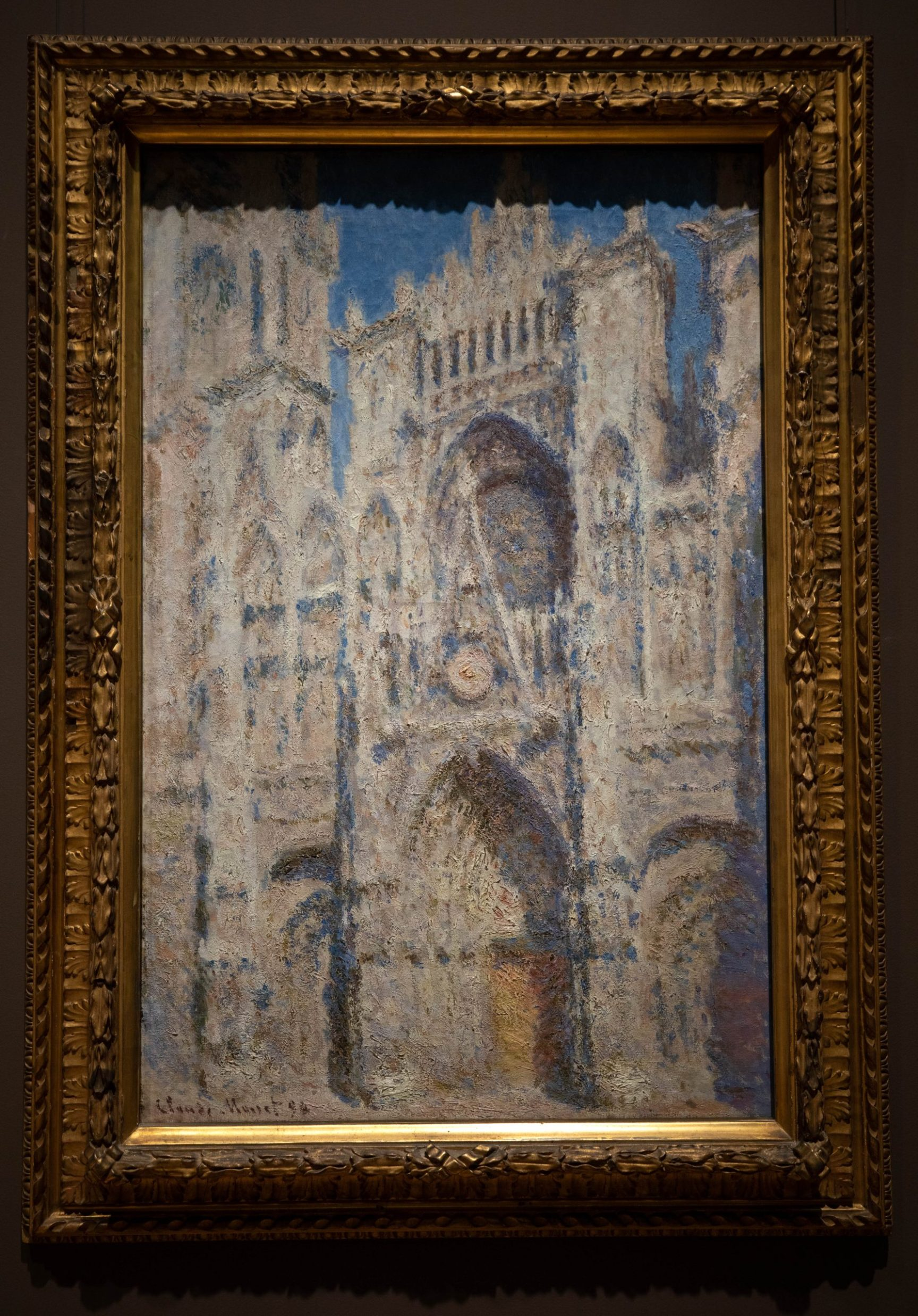 Rouen Cathedral: The Portal (1894) by Claude Monet 1899 The Metropolitan Museum of Art The Met in New York City New York Photographed by Annie Fairfax