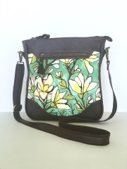 Sassy Satchel with a stunning mongolia floral