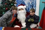 Santa im YMCA