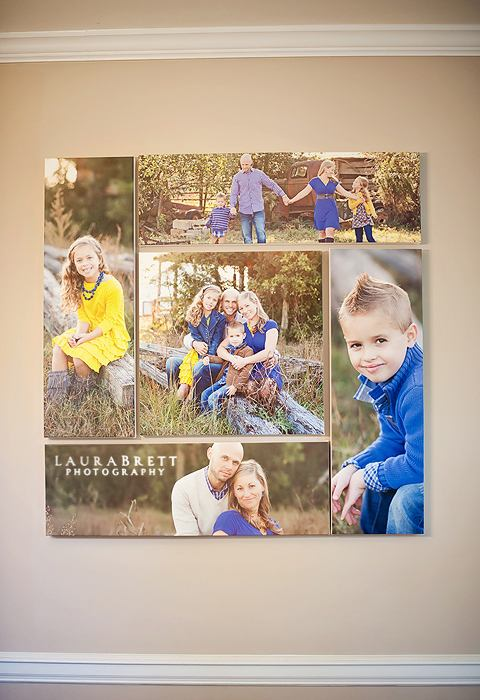 Family Groupings Wall Portrait