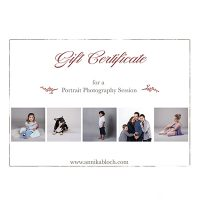 Photography Gift Voucher Maida Vale