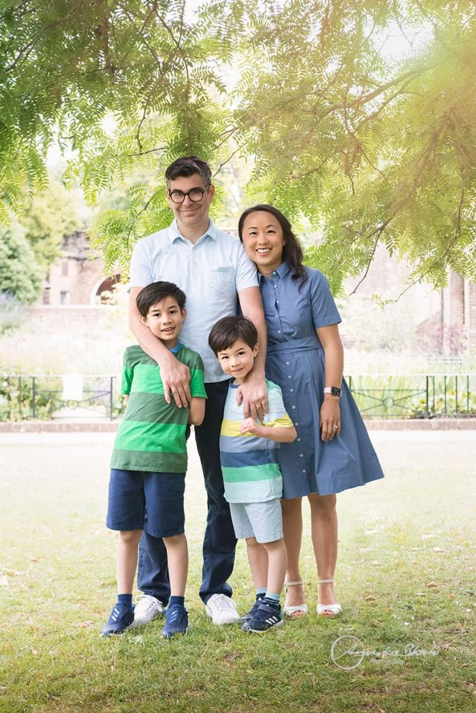 Family photography in Holland Park, London