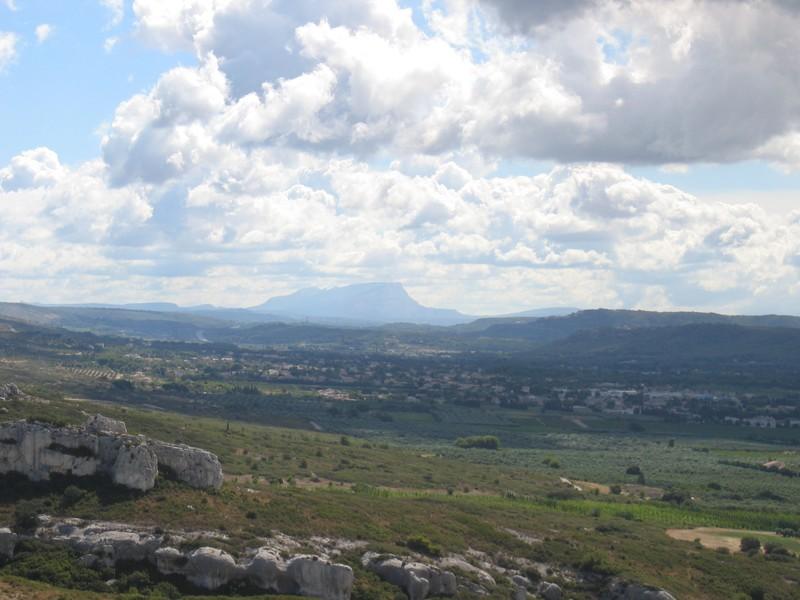 Montagne Sainte Victoire vu du rocher Virant