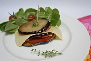 Millefeuille aubergines Leerdammer 2