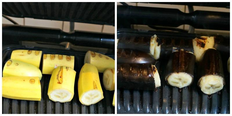 Bananes au grill