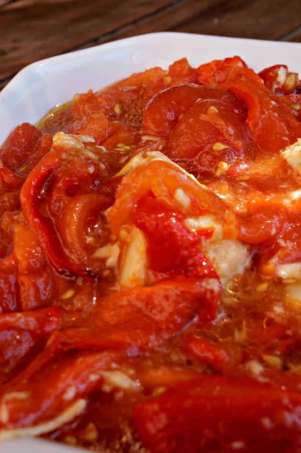 tomates poivrons ail