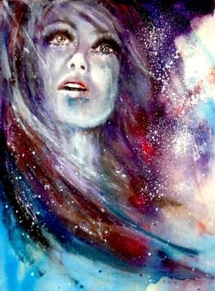 Galaxy Portrait Canvas
