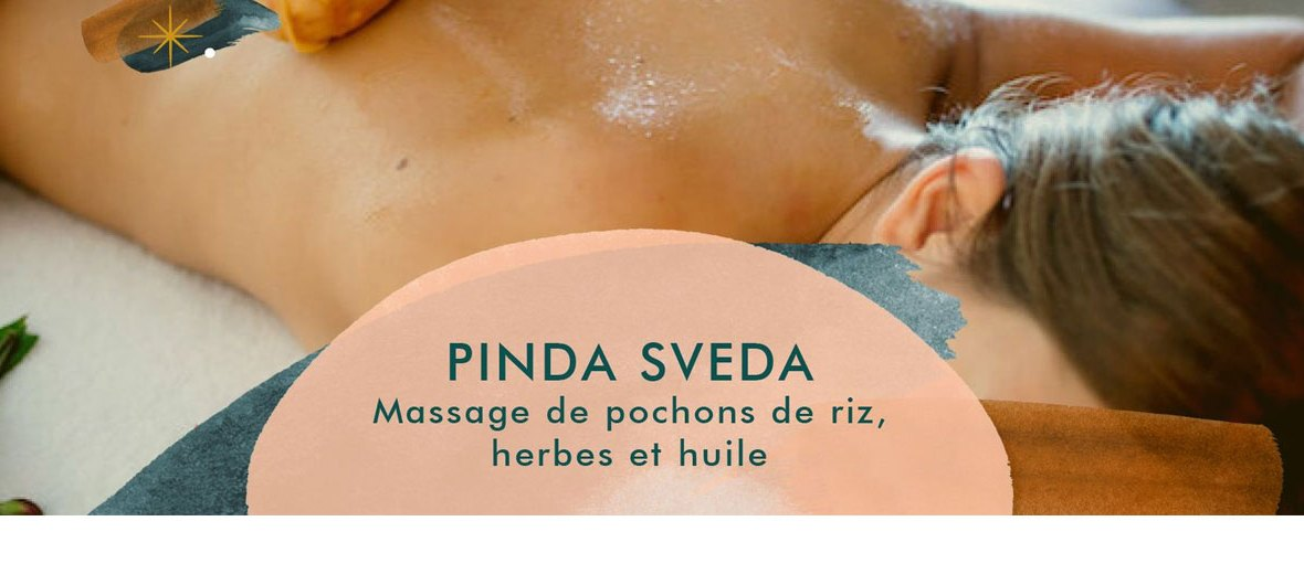 Formation pinda spinda - Massage de pochons de riz, herbes et huile