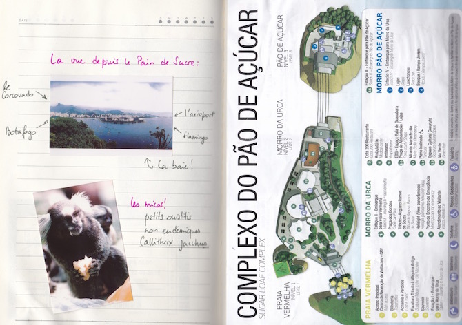 Carnet de voyage-Rio