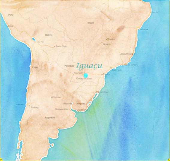 Iguacu-map