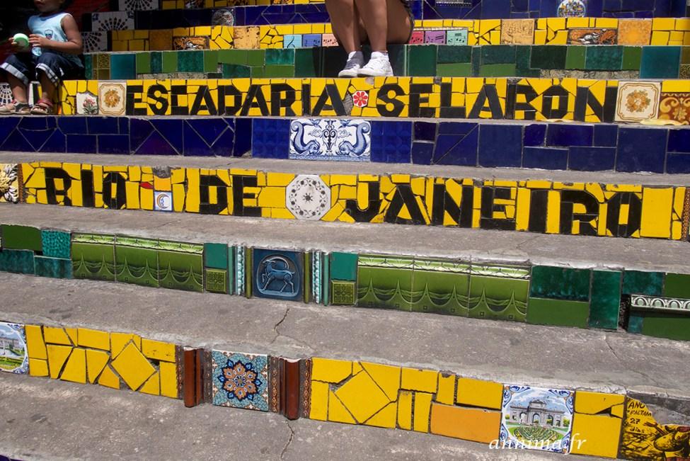 Escalier Selaron