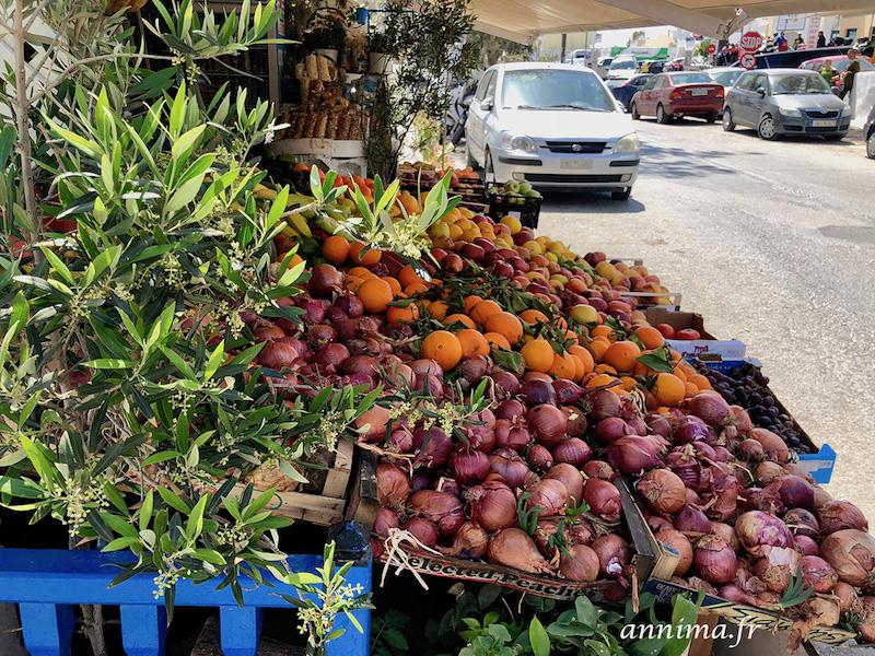 Santorin côté villes: Fira et Oia.