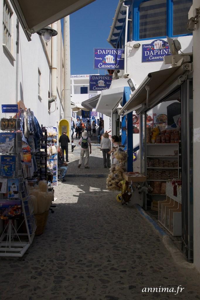 Santorin côté villes.