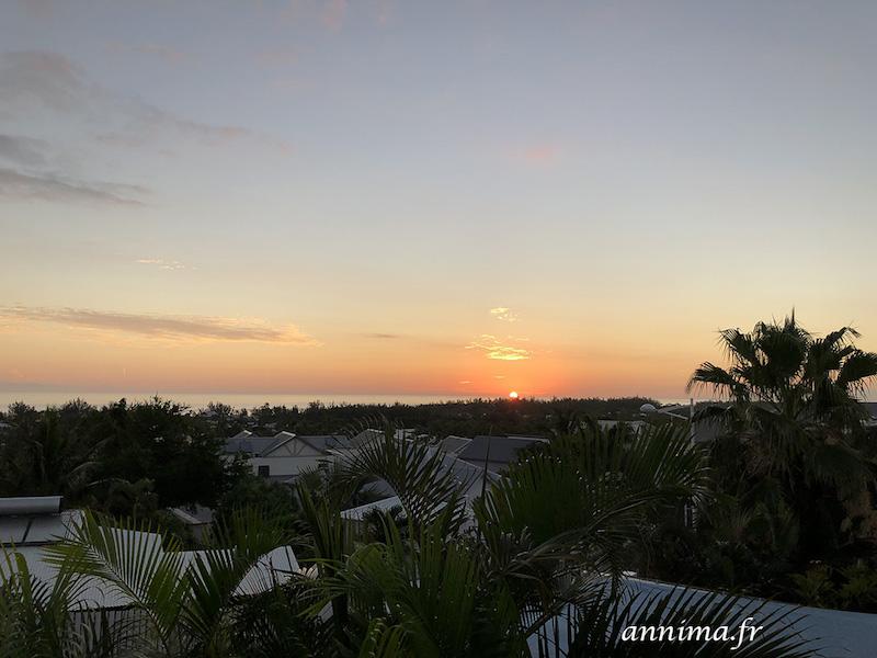 Les couchers de soleil de la Réunion