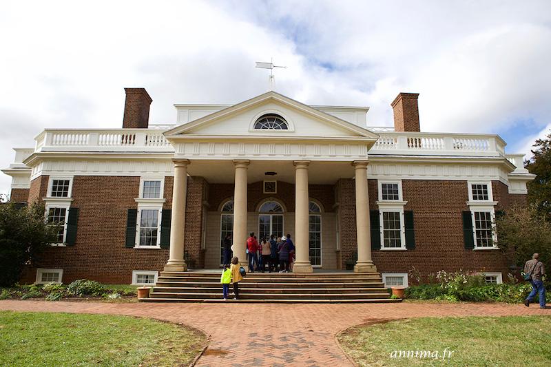 USA : Monticello, la demeure de Thomas Jefferson