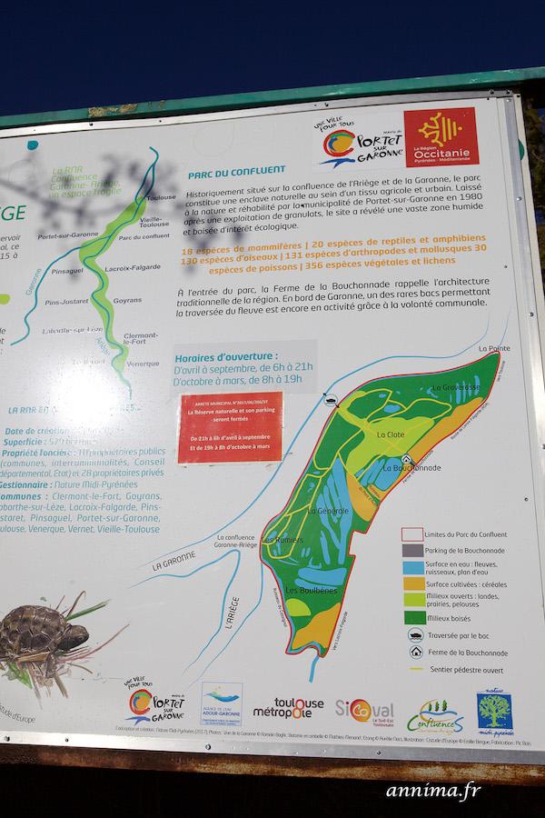 La zone humide du Confluent à Portet sur Garonne. #EnFranceAussi