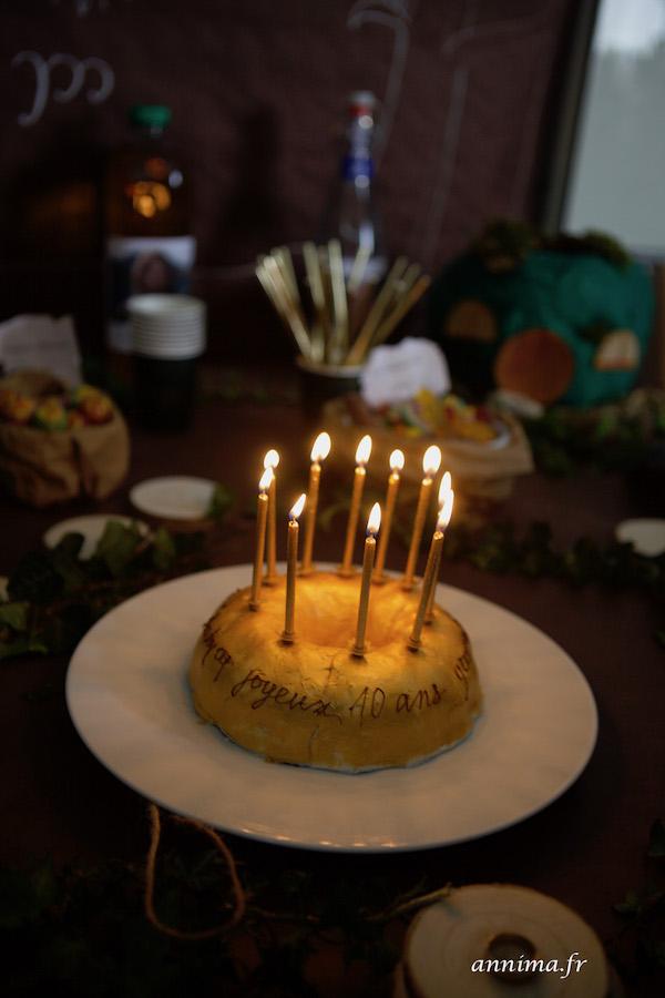 déco anniversaire Seigneur des Anneaux Un Escape Game Seigneur des Anneaux pour ses 10 ans.