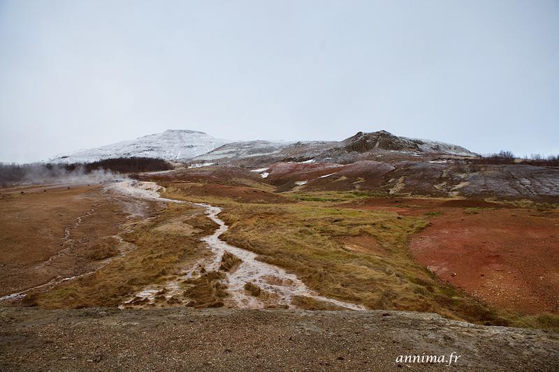 Le cercle d'Or Islandais : Geysir et Gulfoss