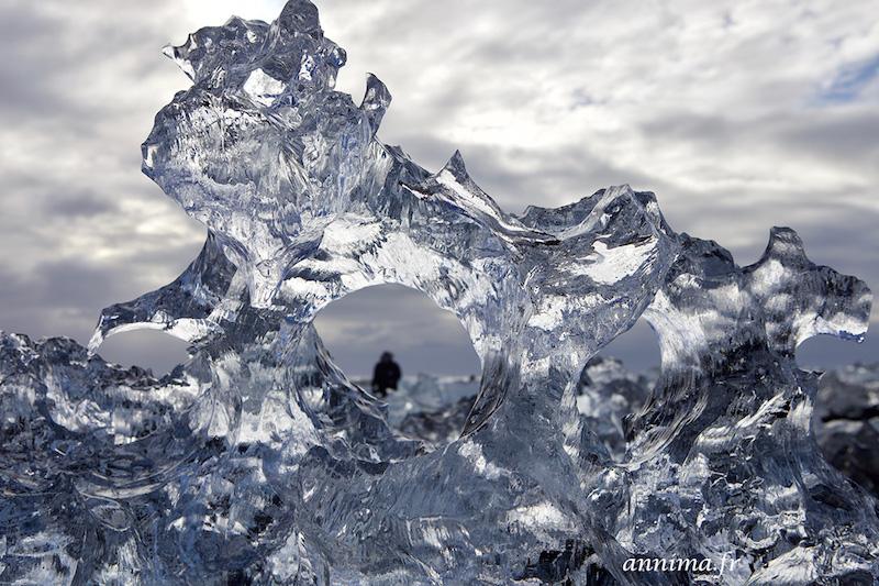 Les glaciers islandais, les plus grands glaciers d'Europe.