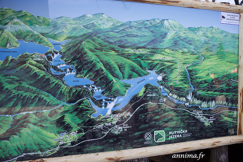 Plan Plitvice map